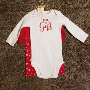 """Carter's """"Best Gift Ever"""" Bodysuit and Pant Set"""